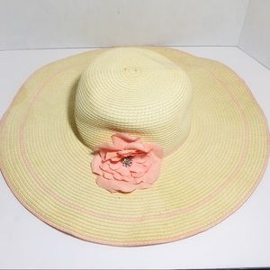 Icing Pins and Needles Straw Floppy Hats One Size